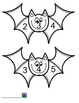 Bat Unit Counting Sequence 1-30