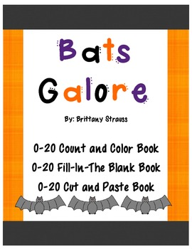 Bats Galore: 0 - 20 Counting Book