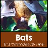 Bat Unit: Going Batty Over Bats: Common Core Aligned