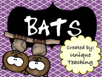 Bats - Informational Text