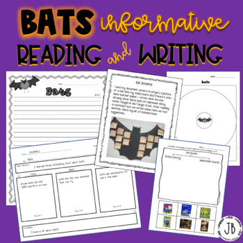 Bats Informative Reading and Writing