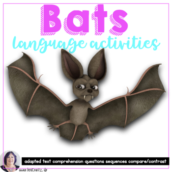Bats Interactive Book for Informational Text for Special E