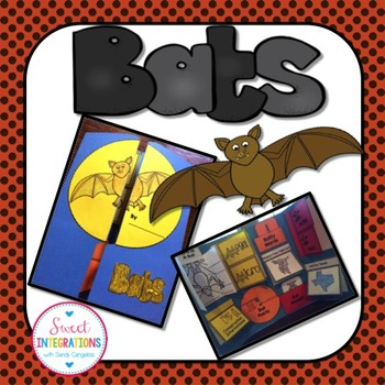 BATS - Science Interactive Lapbook Filled With Templates a