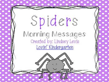 Spiders- Morning Messages