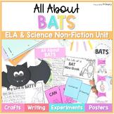 Bats Non-Fiction ELA & Science Unit