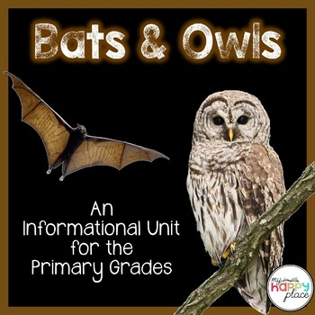 Bats and Owls Unit: PowerPoint and Printables, Non-Fiction