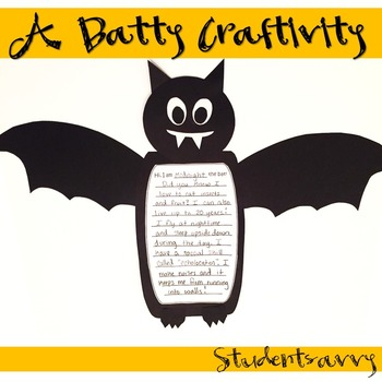 Bat Craftivity