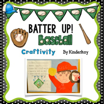 Batter Up! Baseball Craftivity for Little Kids