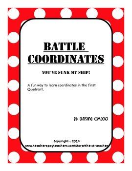 Battle Coordinates Plane First 1st Quadrant Battleship