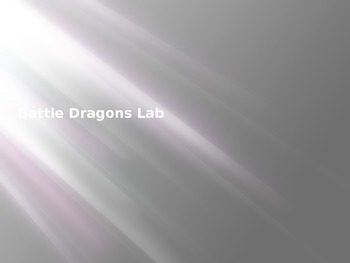 Battle Dragons: Application of Inheritance