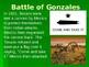 Battle of Gonzales TX History