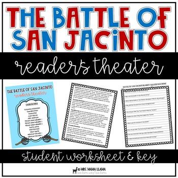 Battle of San Jacinto Reader's Theater