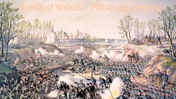 Battle of Shiloh - Pittsburg Landing Civil War Battle powe