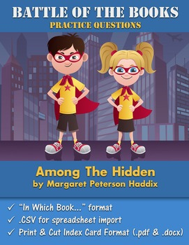 Battle of the Books Questions: Among the Hidden by Margare