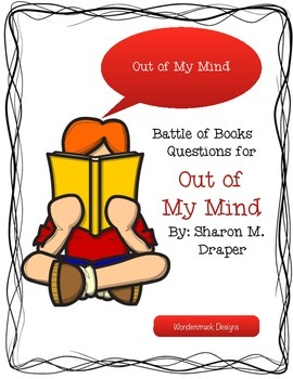 Battle of the Books Questions for Out of My Mind