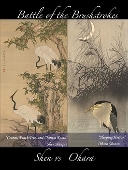 Battle of the Brushstrokes: Chinese Watercolor and Japanes