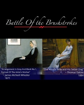 Battle of the Brushstrokes: Studies at Home