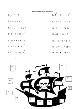 Battleship:  Order of Operations