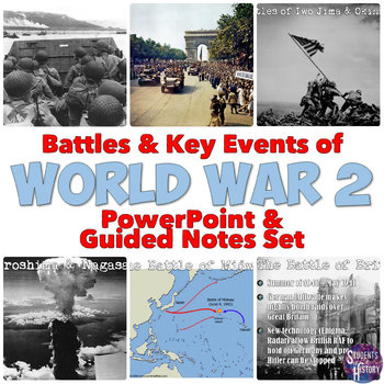 World War II Battles and Events PowerPoint Lesson