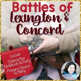 Battles of Lexington and Concord: Lesson and Activities