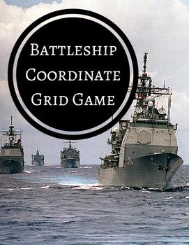 Battleship Coordinate Grid Game Using Catchbook