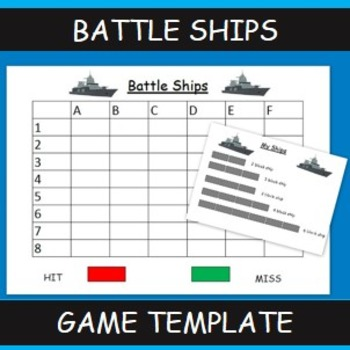 Battleships Maths Game