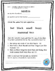 Adjectives and Adverbs Interactive Note Taking and Quiz