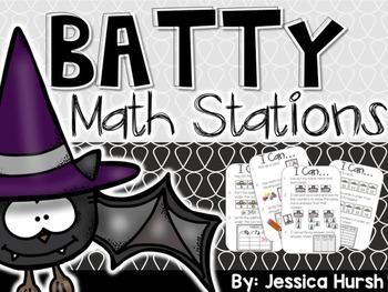 Batty Math Stations