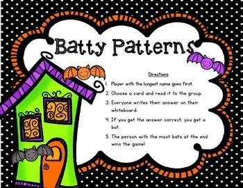 Batty Patterns