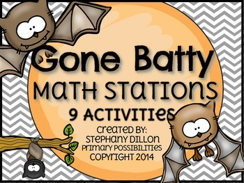 Batty for Math { Math Stations & Centers }