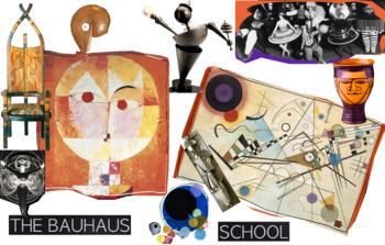 Bauhaus School Germany 1919-1933 ~ Art History ~ FREE POSTER