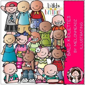 Melonheadz: Baylee's Bald Kidlettes clip art - COMBO PACK