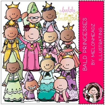 Melonheadz: Baylee's Bald Princess clip art