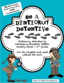 Be A Dictionary Detective -Reference Skill Activities