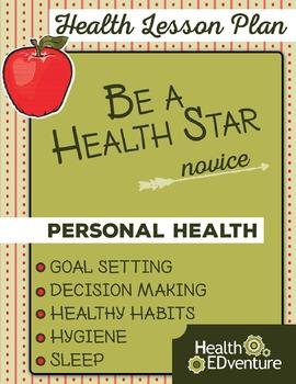 Be A Health Star  Lesson Plan Gr 2-3