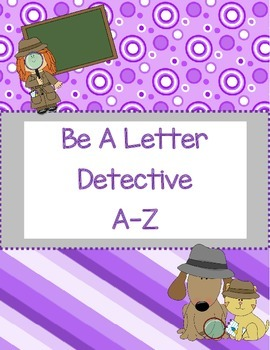 Be A Letter Detective