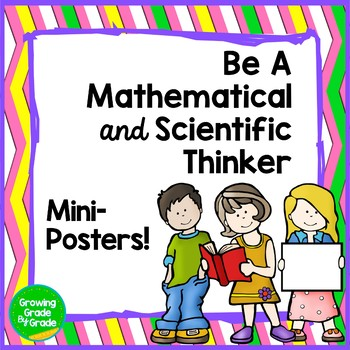 Inspirational Posters Be A Mathematical (or Scientific) Thinker!