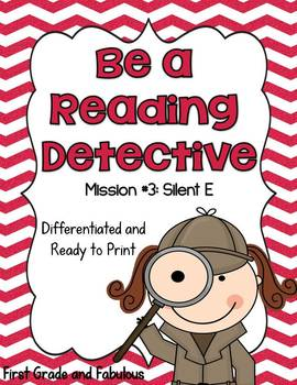 Reading Detectives Silent E