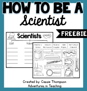 Be A Scientist- FREEBIE