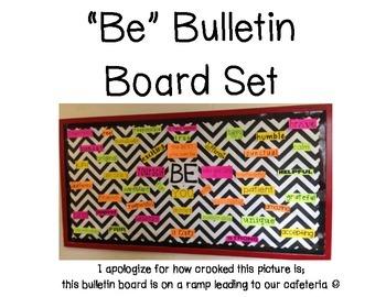 """Be"" Bulletin Board Set"