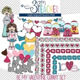 Be Mine: Valentine's Clipart Set