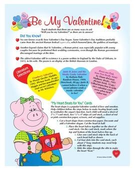 Be My Valentine Volume 1 Grades 1-3