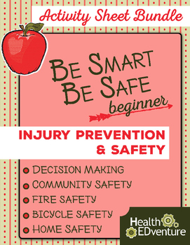 Be Smart Be Safe – Activity Sheet Bundle (K-1)