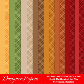 Be Thankful 2 A4 size Digital Papers by MarloDee Designs