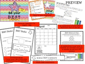 Be Your BEST - A Positive Behavior Management System for P