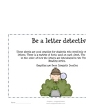 Be a Letter Dectective