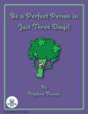 Be a Perfect Person in Just 3 Days Novel Study CD