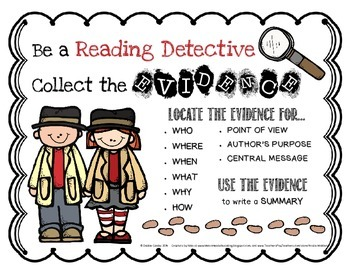 Be a Reading Detective: Collect the Evidence and Solve the Case