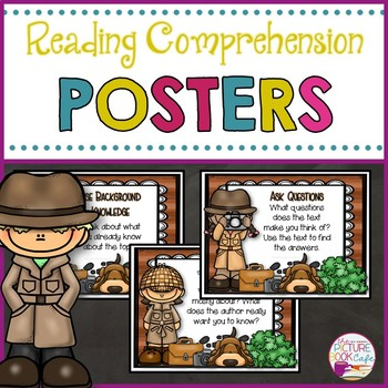 Be a Reading Detective Comprehension Posters