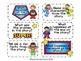 Be a SUPER Reader! Comprehension Task Cards